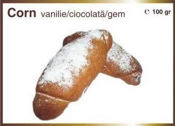 Corn cu vanilie